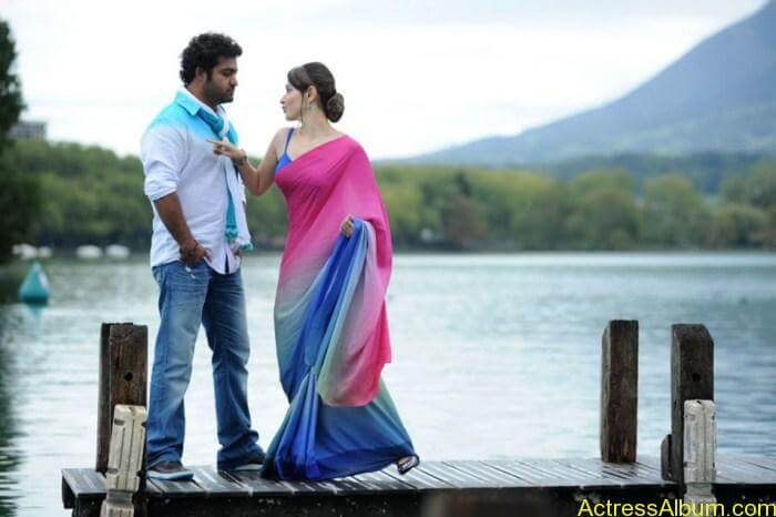 Jr NTR and Tamanna Hot Romancing Pics