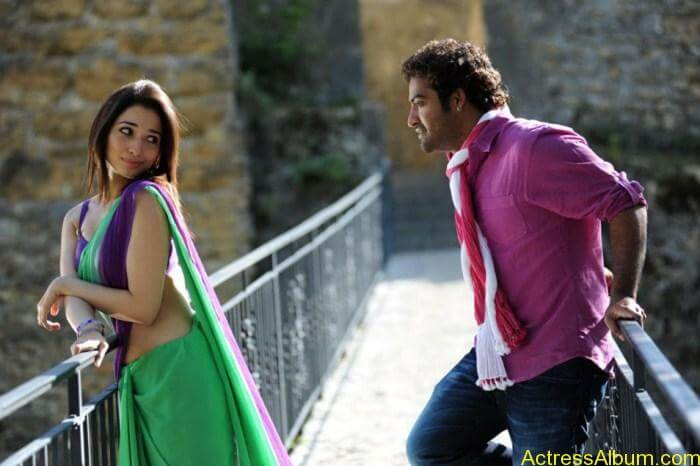 Jr NTR Tamanna Hot Oosaravelli New Stills
