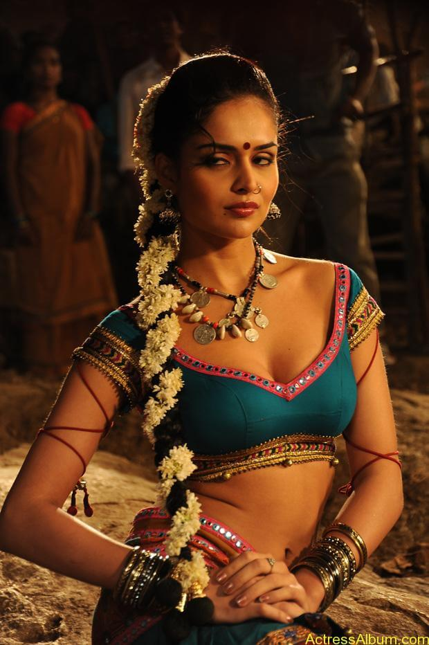 Nathalia Kaur Hot stills in Dalam Movie Item Song (2)