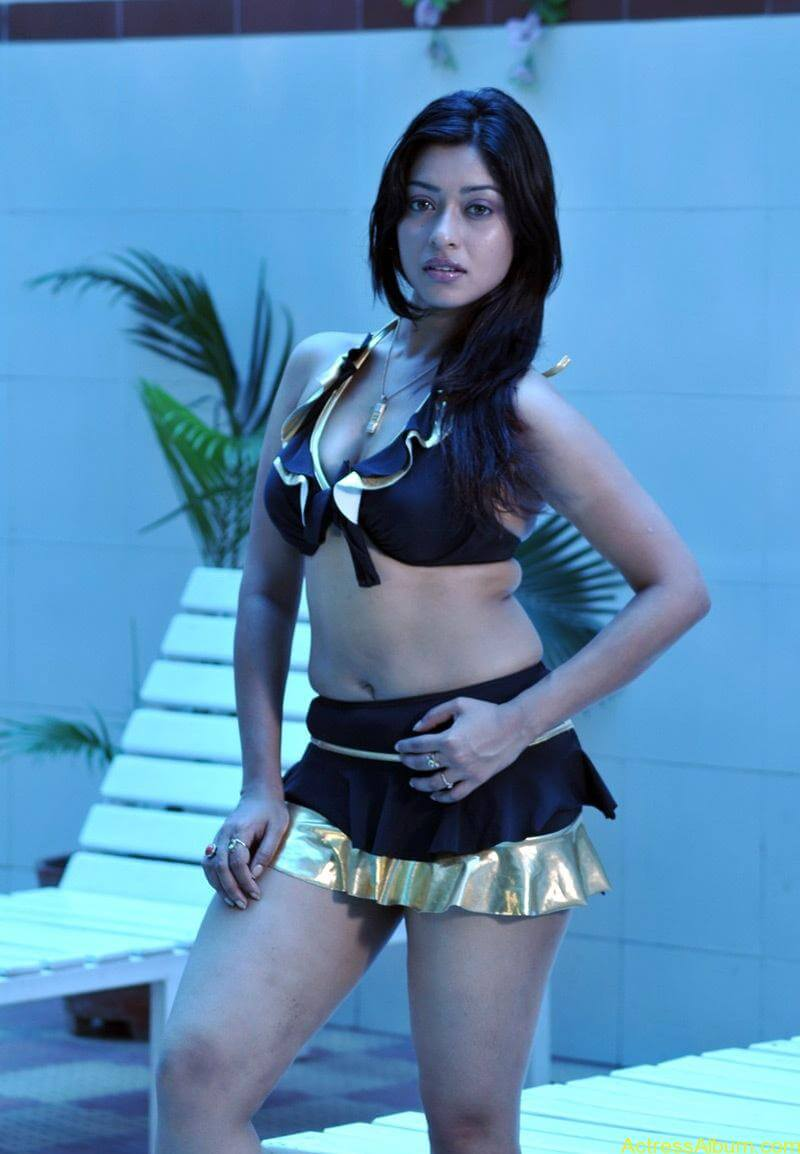 Payal Gosh Hot in Bikini dress 3