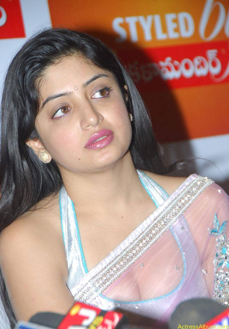 Poonam Kaur Hot Stills at Kalamandir Nagavalli costumes collection (4)