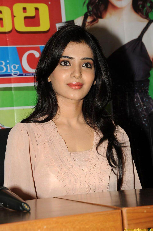 Samantha stills at big c rojuko laksha contest (2)