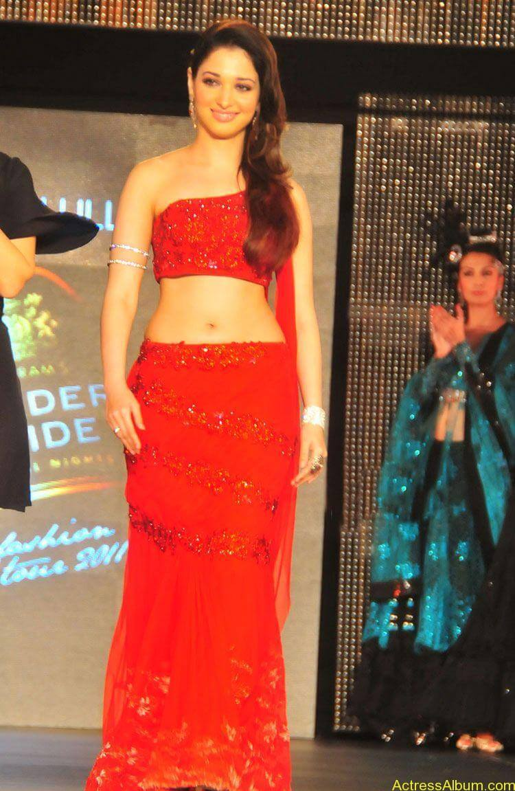 Tamanna Bhatia Images At Ramp Walk Show