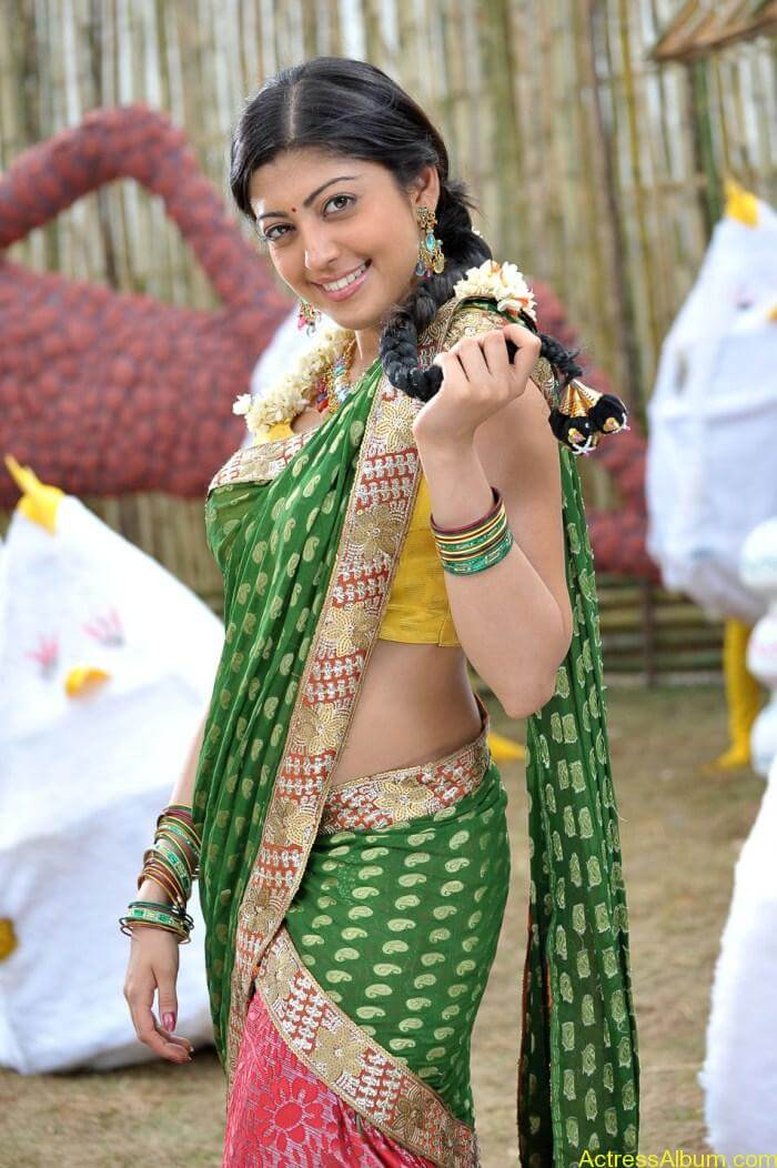 Praneetha Hot in Half Saree