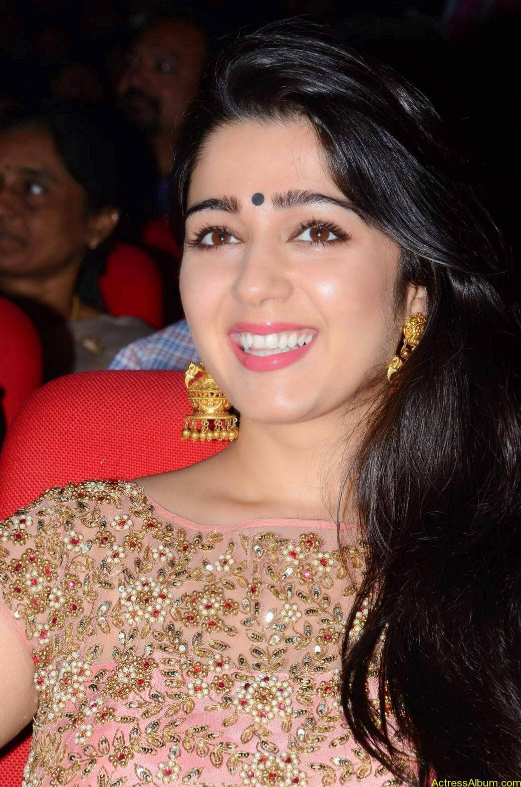 Actress Charmi Kaur Latest Cute Hot Spicy Photos Gallery At Temper Movie Audio Launch (10)