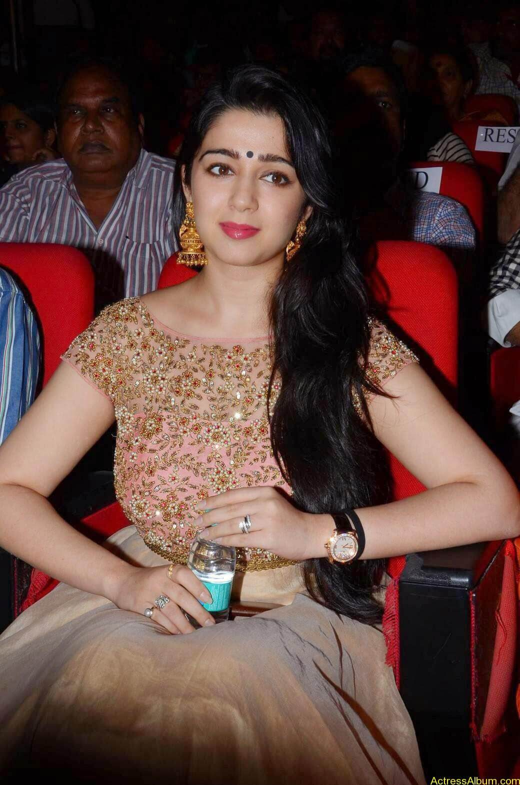 Actress Charmi Kaur Latest Cute Hot Spicy Photos Gallery At Temper Movie Audio Launch (13)