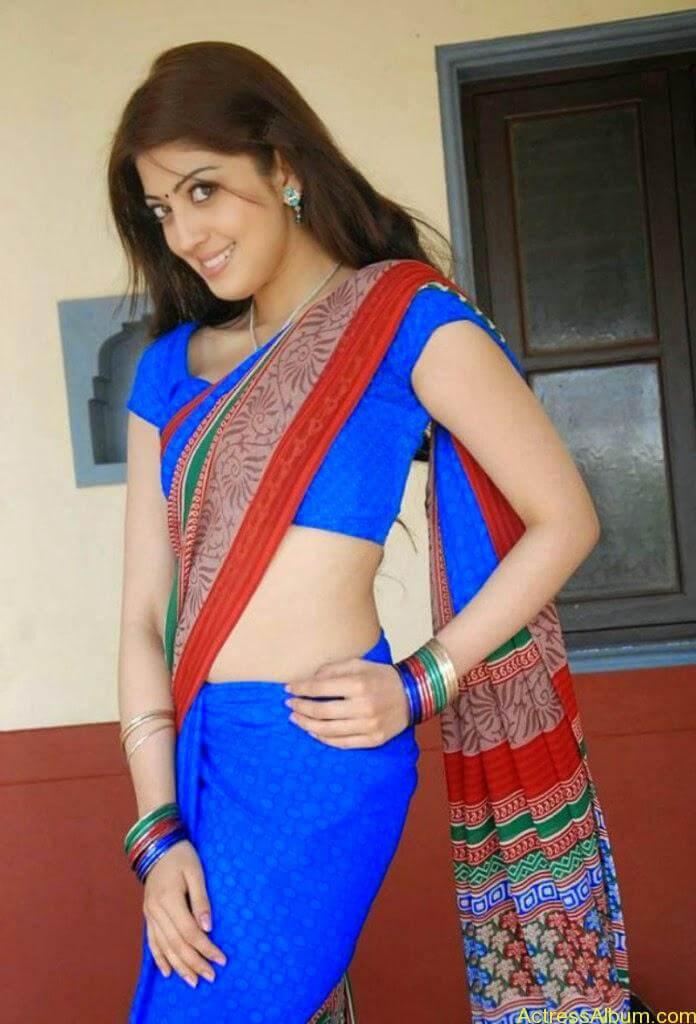 Actress-Pranitha-Latest-Saree-Stills-2