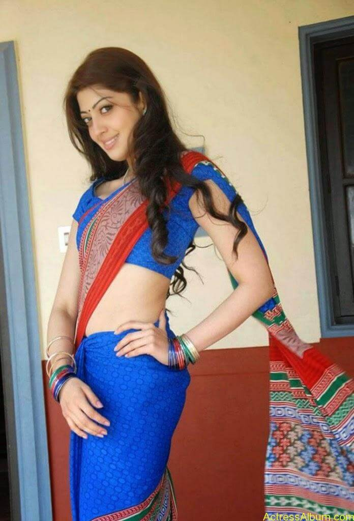 Actress-Pranitha-Latest-Saree-Stills-5