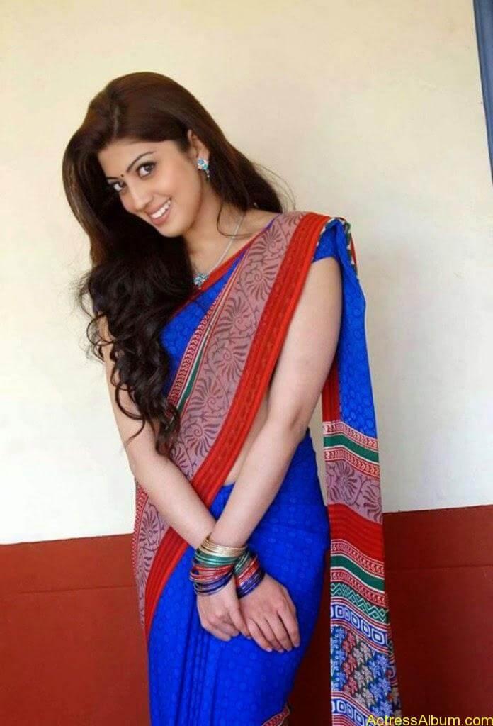 Actress-Pranitha-Latest-Saree-Stills-7