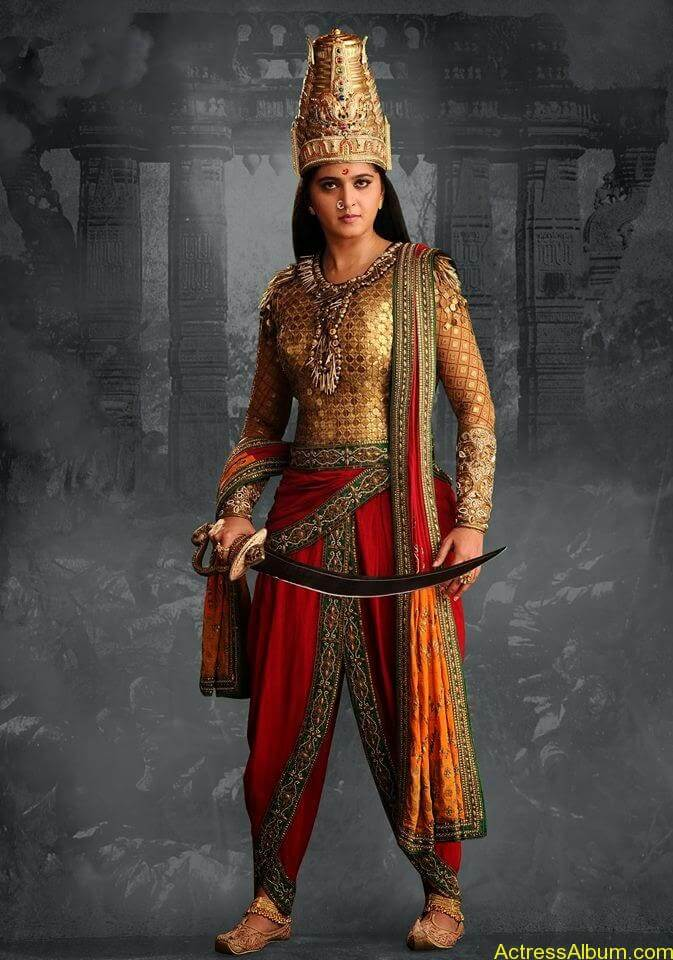 New-Look-of-the-Warrior-Queen---Rudhramadevi-