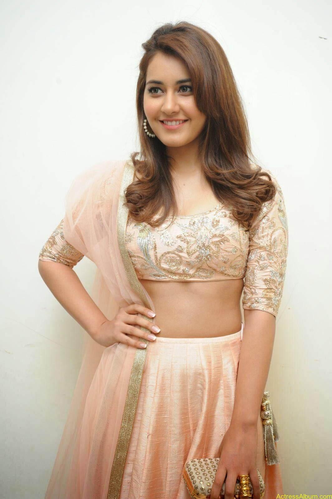 Rashi Khanna Latest Glam Stills At Jil Movie Audio Launch HQ 7
