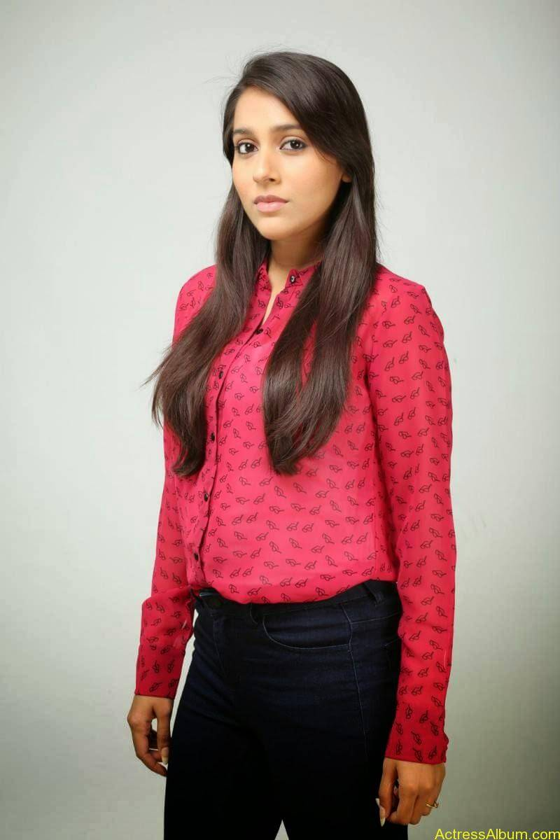 Rashmi Gautam Hot pink dress 10