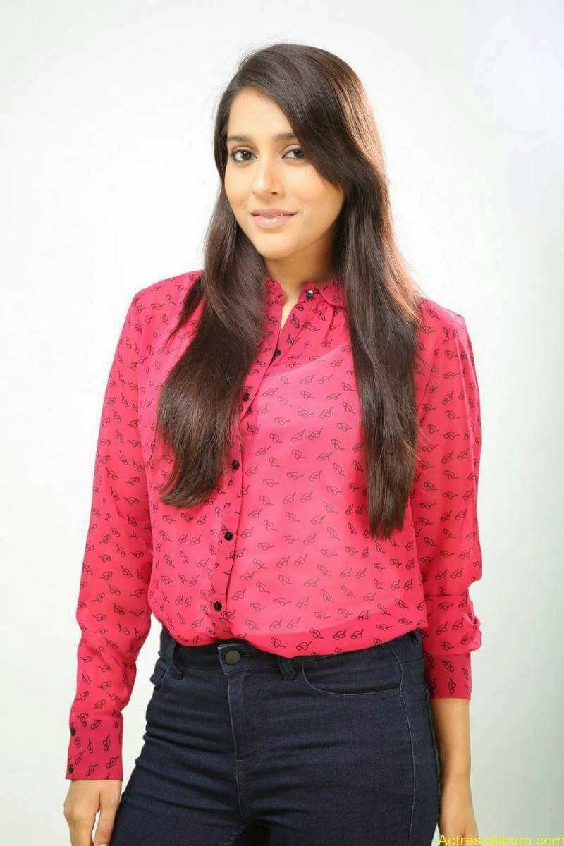 Rashmi Gautam Hot pink dress 12