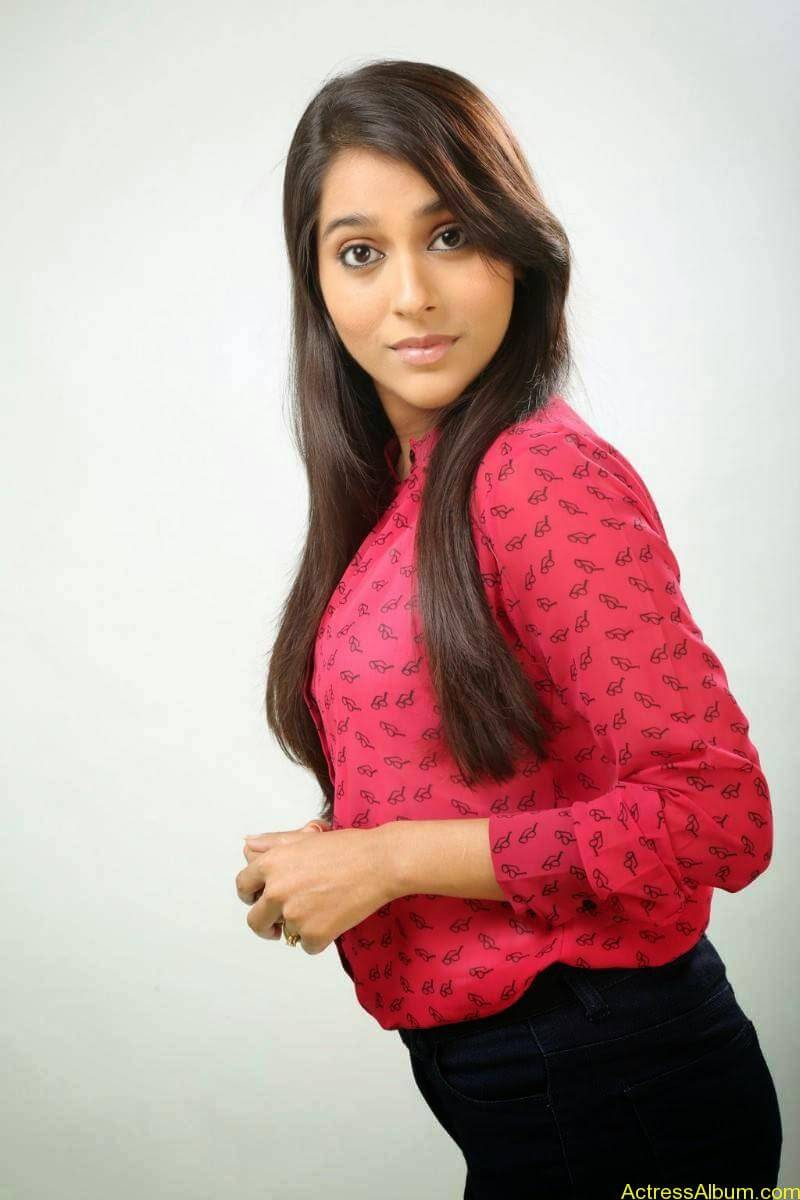 Rashmi Gautam Hot pink dress 4