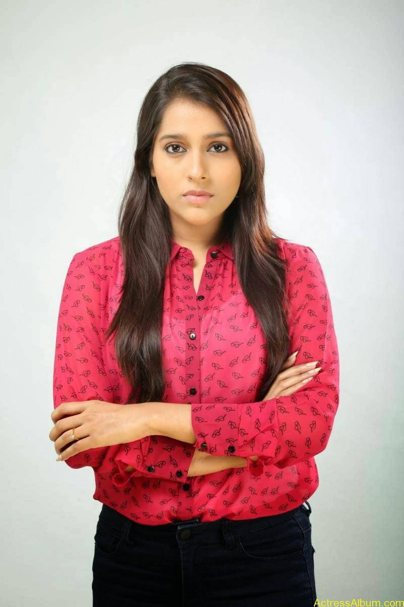 Rashmi Gautam Hot pink dress 5