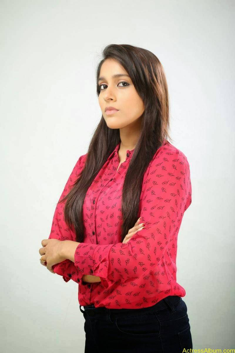 Rashmi Gautam Hot pink dress 6
