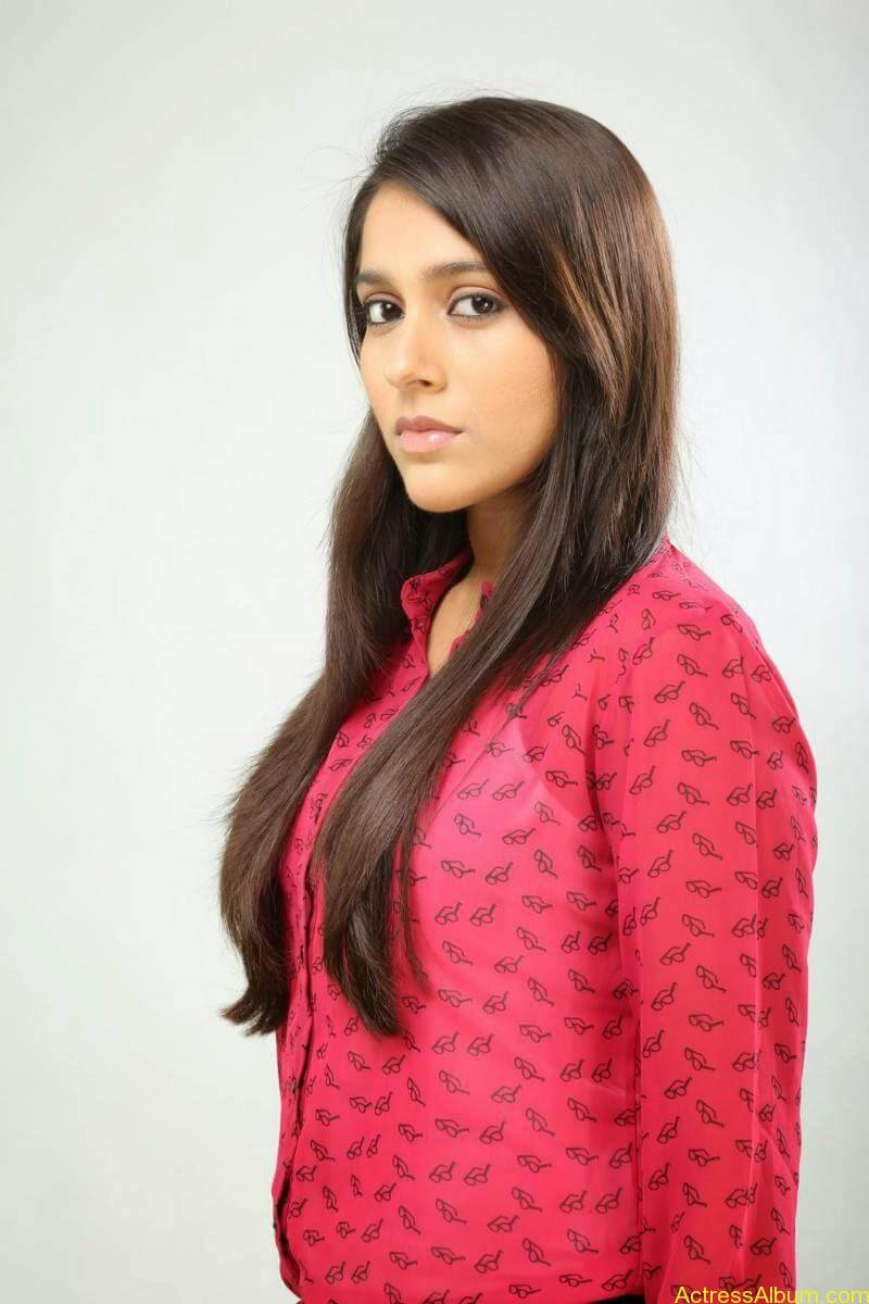 Rashmi Gautam Hot pink dress 9