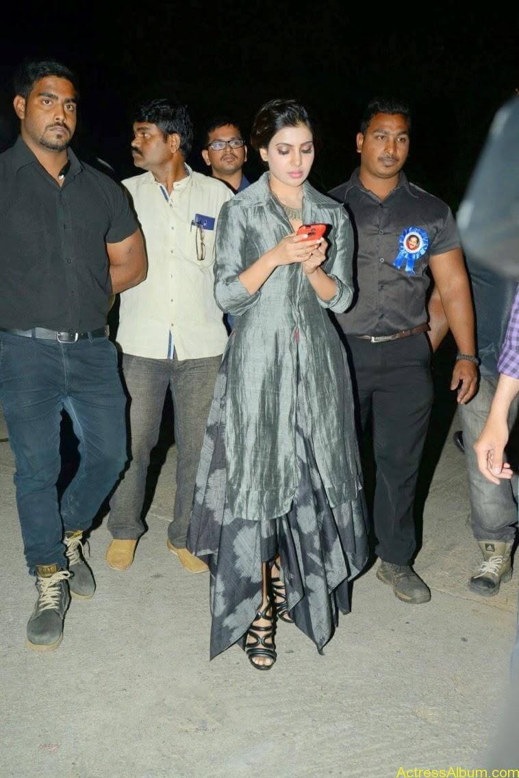samantha at rajendra prasad son wedding 6