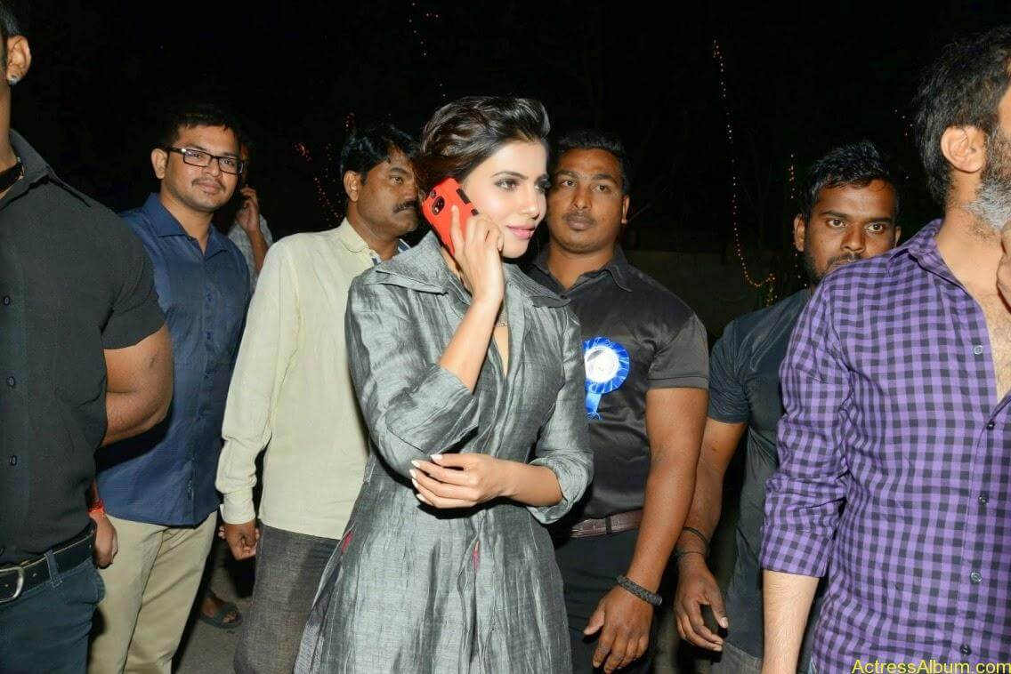 samantha at rajendra prasad son wedding 8