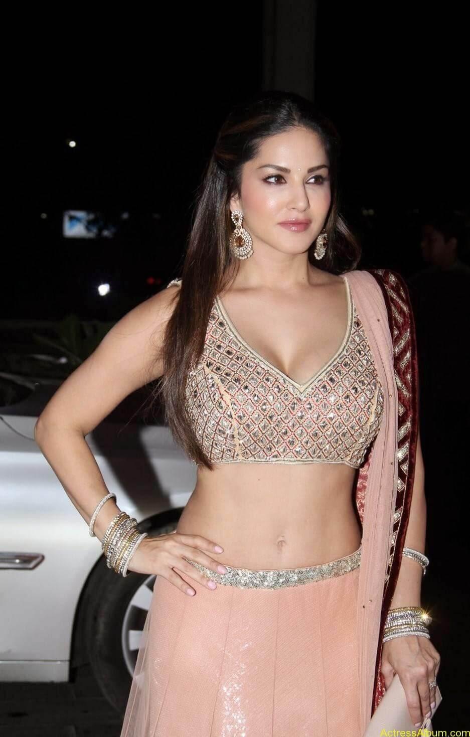 Sunny-Leone-Stills-at-Tulsi-Kumar's-Wedding-Receptions_1
