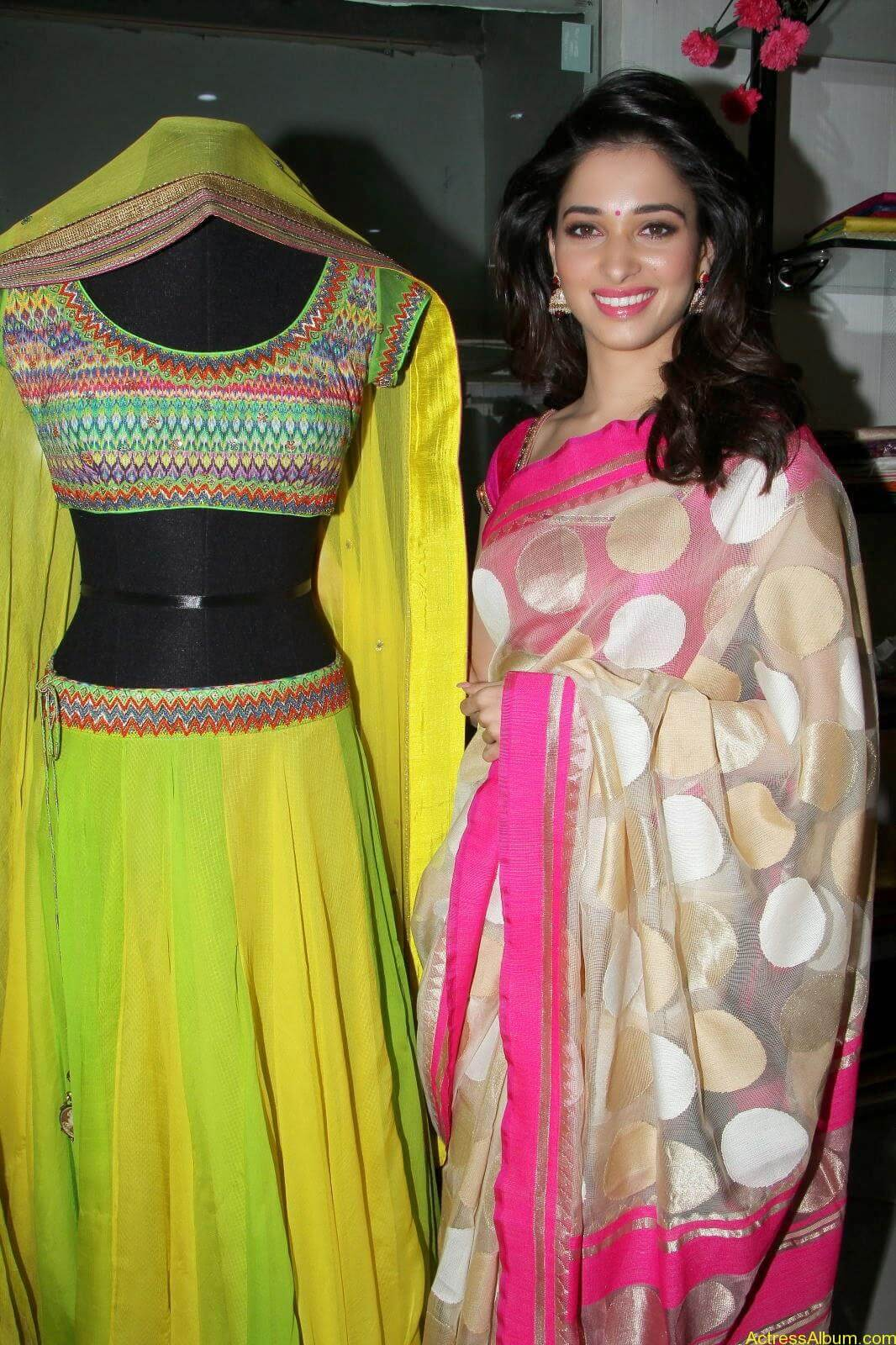 Tamanna latest beautiful pics at Trisha Boutique launch event 002