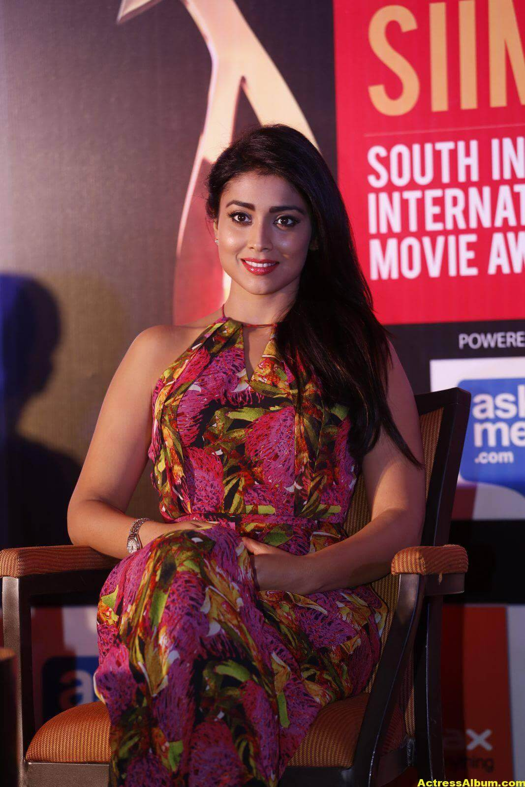Actress Shriya Saran at SIMMA Awards-5