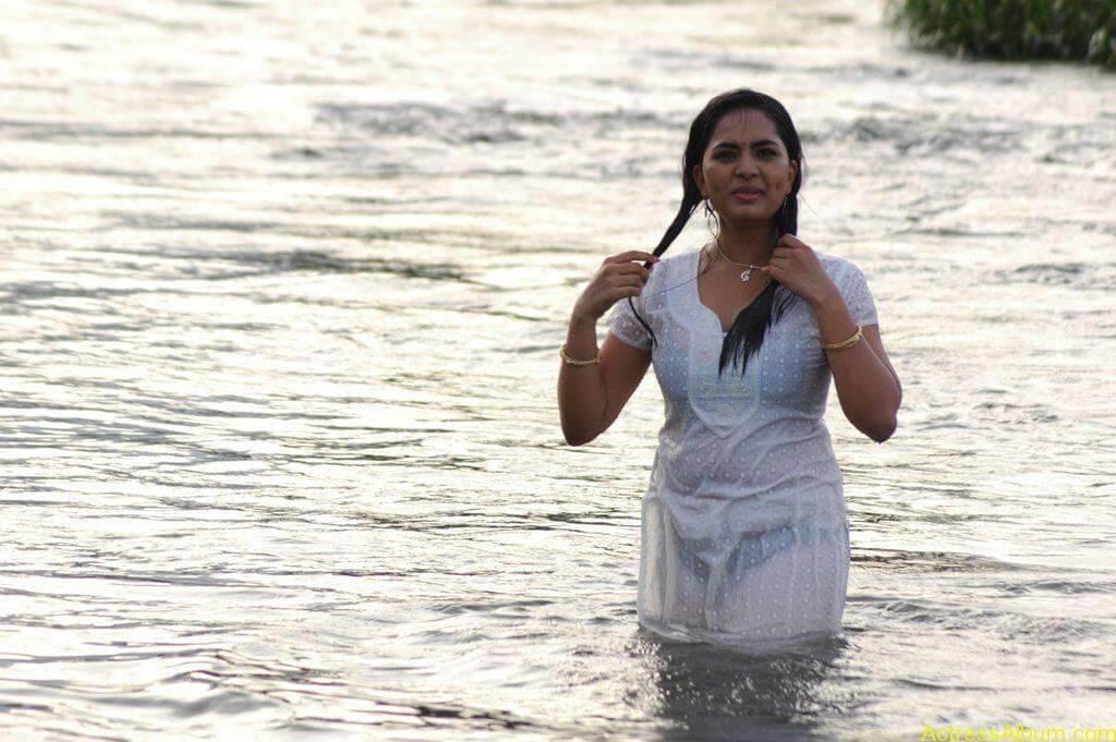 Actress Srushti Dange Hot Transparent Pics-2
