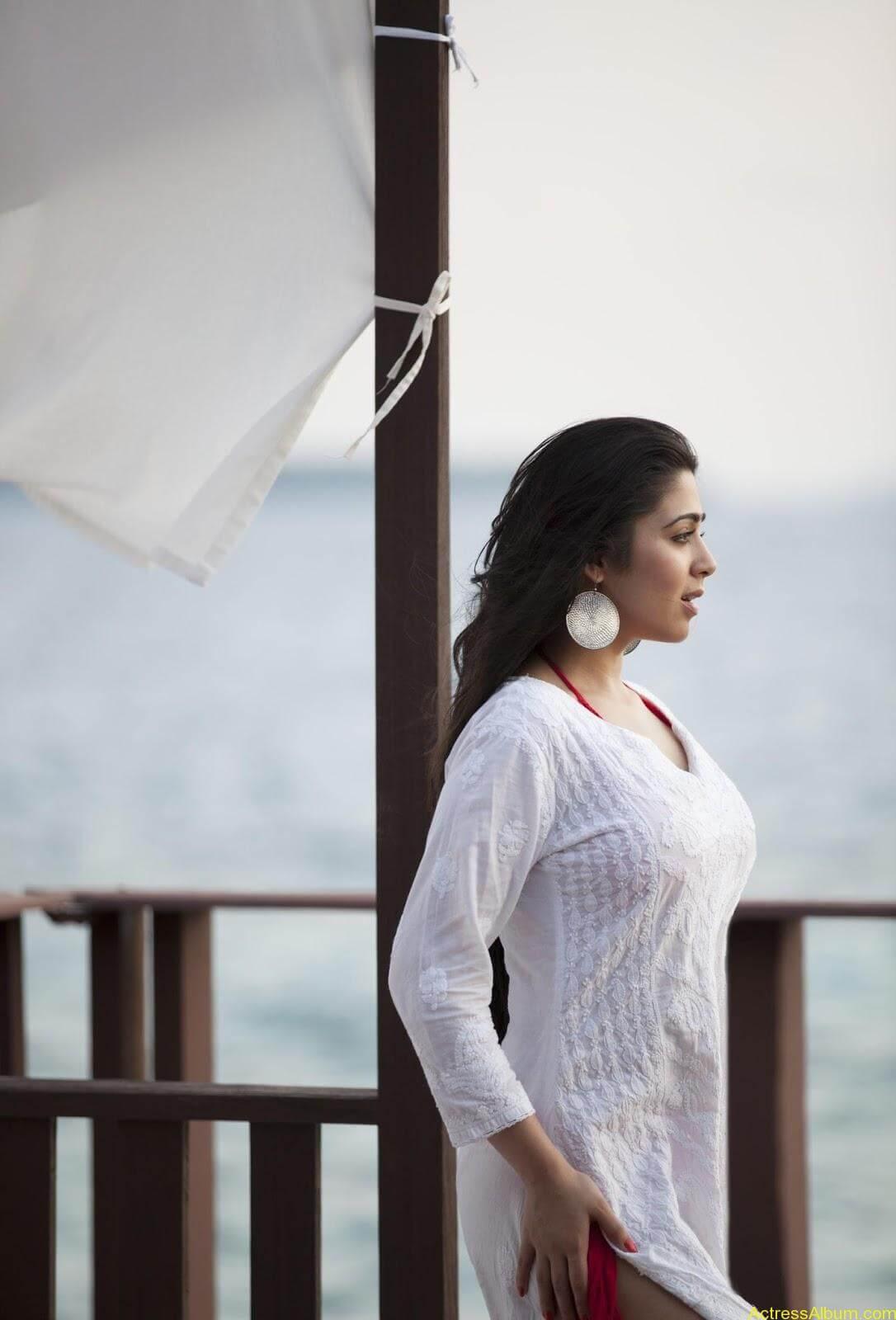 Charmi-kaur-latest-photoshoot-in-beach-5
