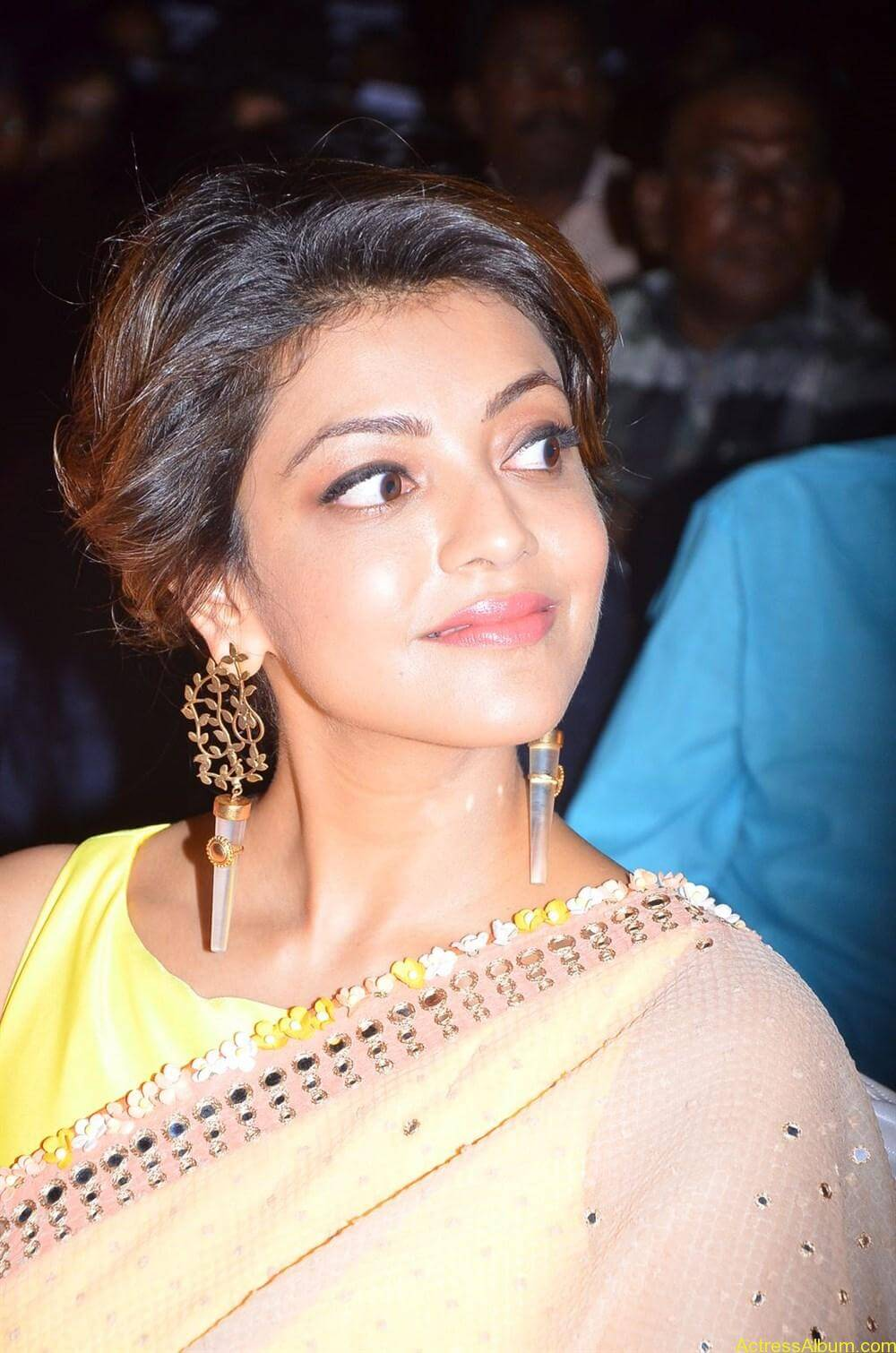 Kajal-Aggarwal-Latest-Stills-At-Paayum-Puli-Audio-Launch-1