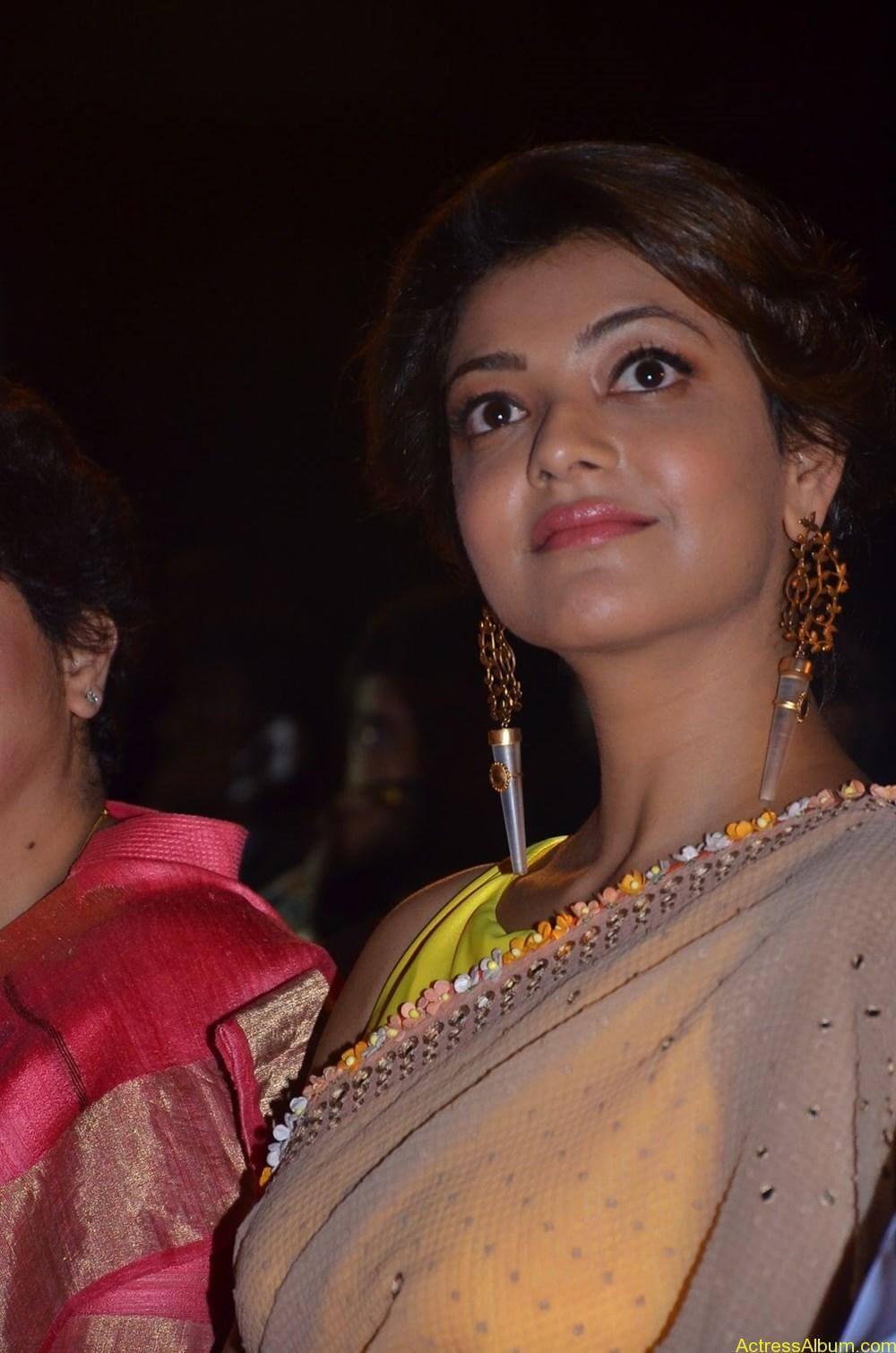 Kajal-Aggarwal-Latest-Stills-At-Paayum-Puli-Audio-Launch-10