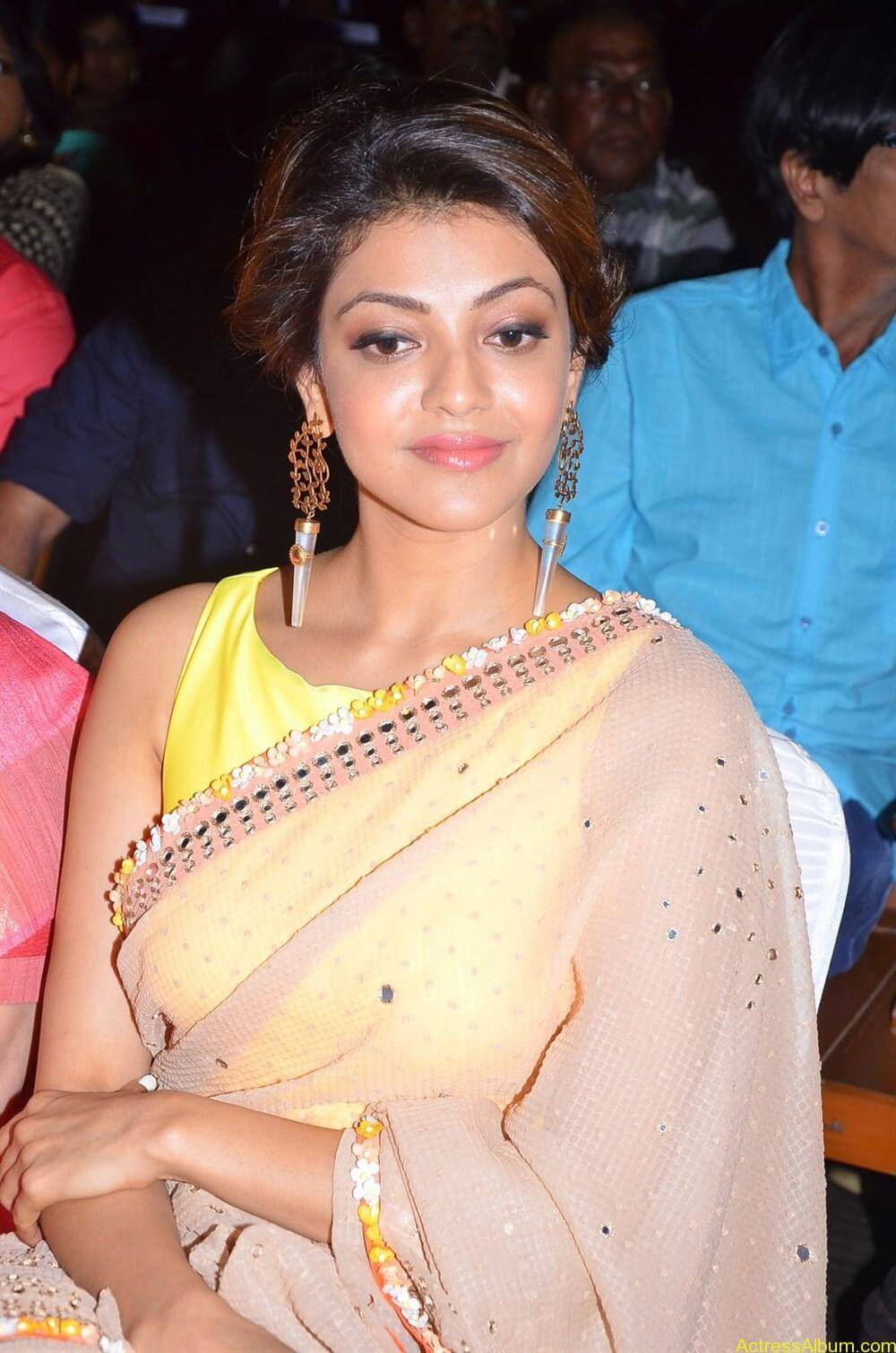 Kajal-Aggarwal-Latest-Stills-At-Paayum-Puli-Audio-Launch-2