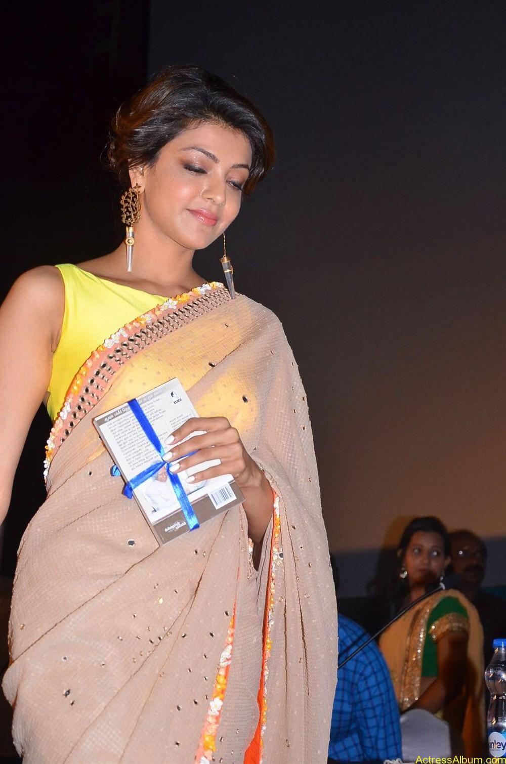 Kajal-Aggarwal-Latest-Stills-At-Paayum-Puli-Audio-Launch-3