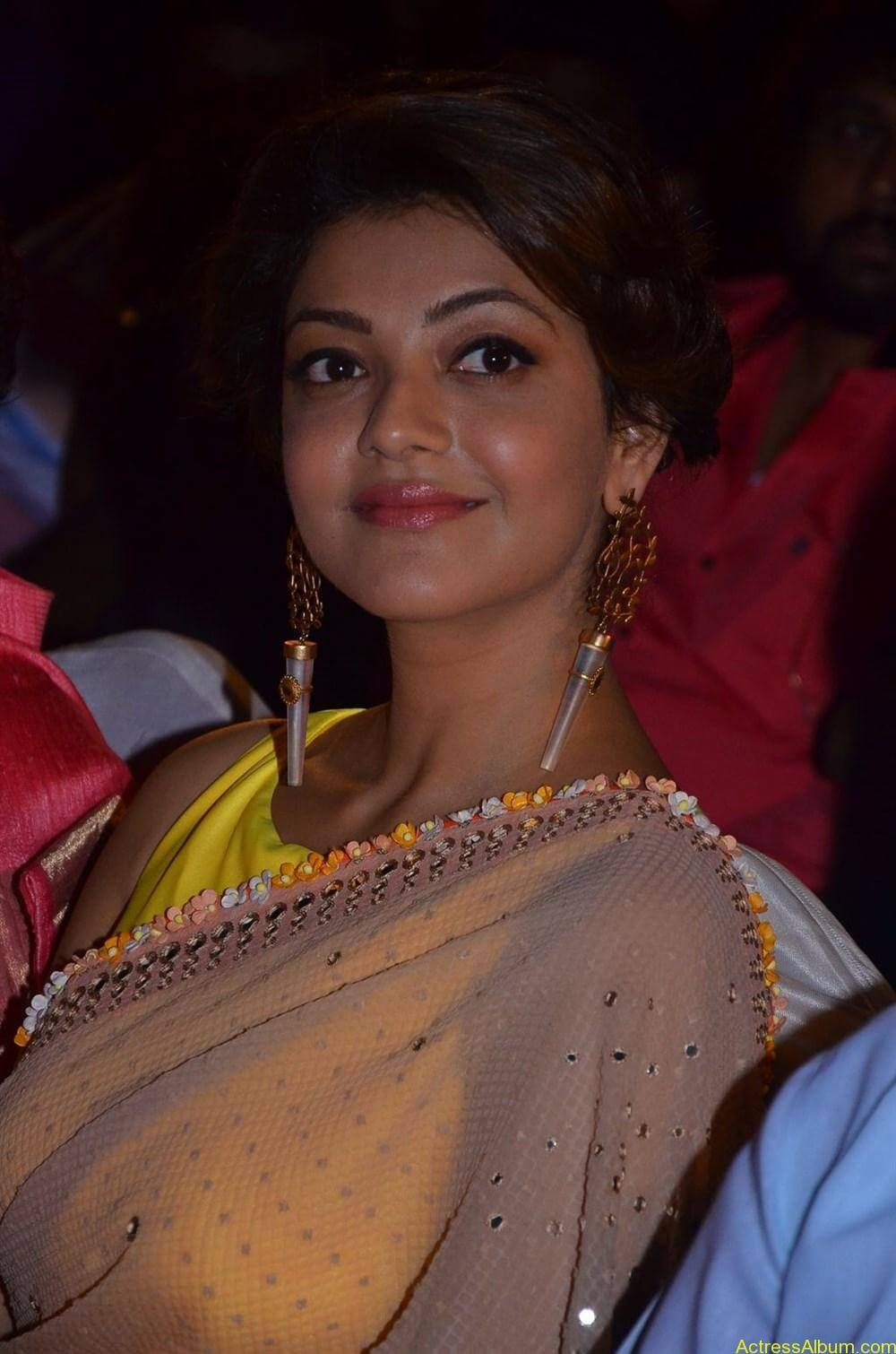 Kajal-Aggarwal-Latest-Stills-At-Paayum-Puli-Audio-Launch-5