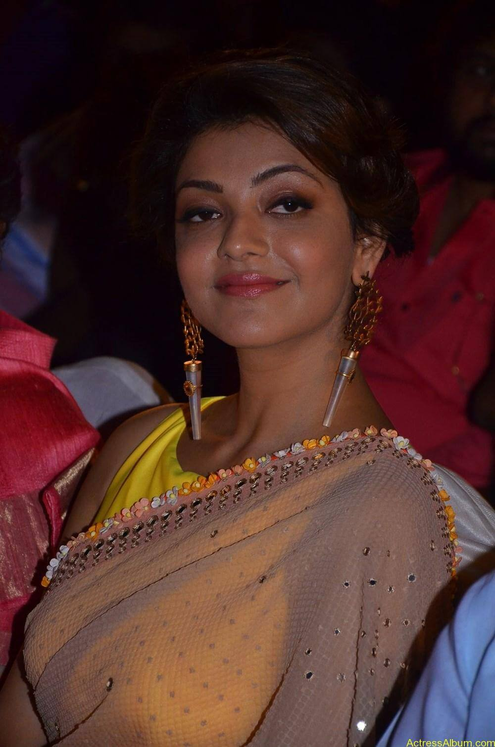 Kajal-Aggarwal-Latest-Stills-At-Paayum-Puli-Audio-Launch-8