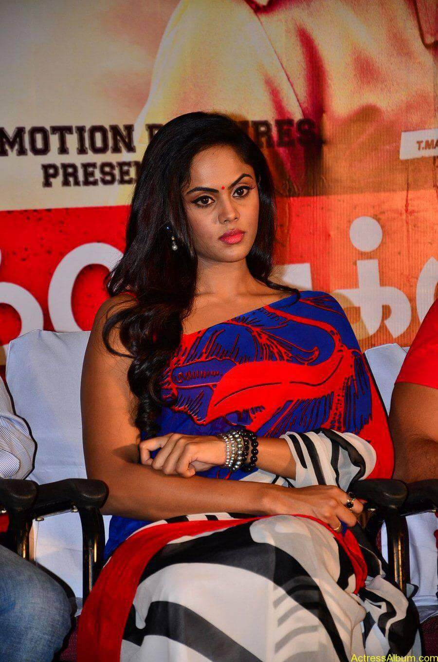 Tamil Actress Karthika Nair Hot in Blue Dress - 2