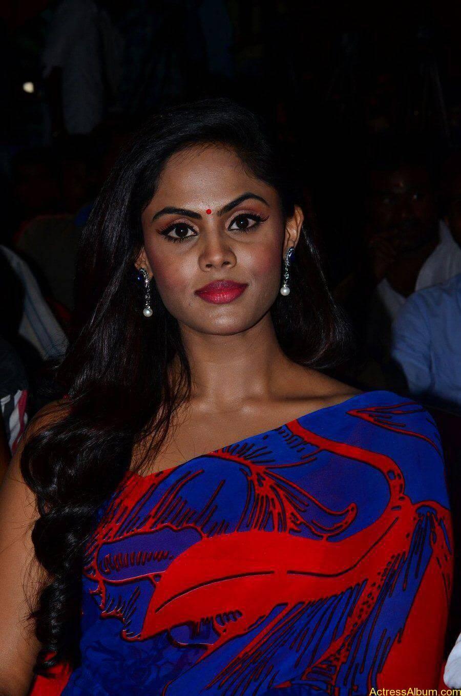 Tamil Actress Karthika Nair Hot in Blue Dress - 4