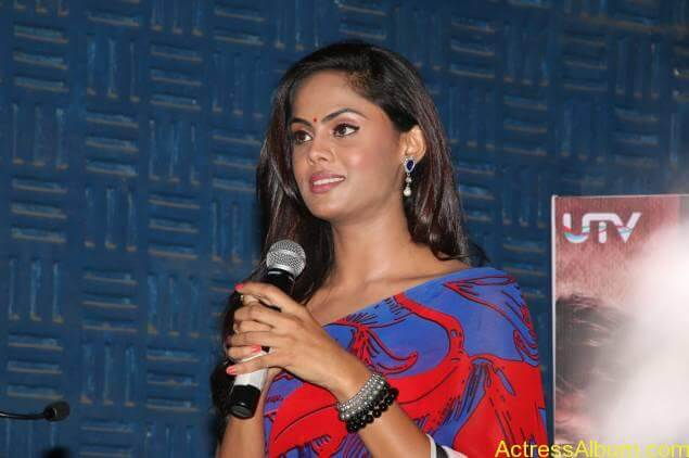 Tamil Actress Karthika Nair Hot in Blue Dress - 5