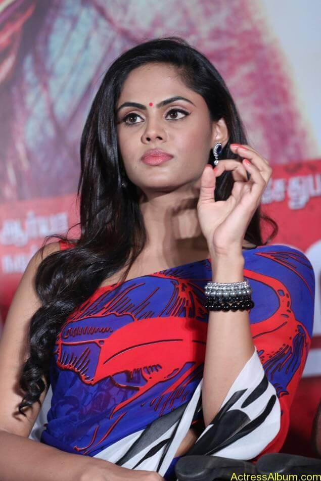 Tamil Actress Karthika Nair Hot in Blue Dress - 6