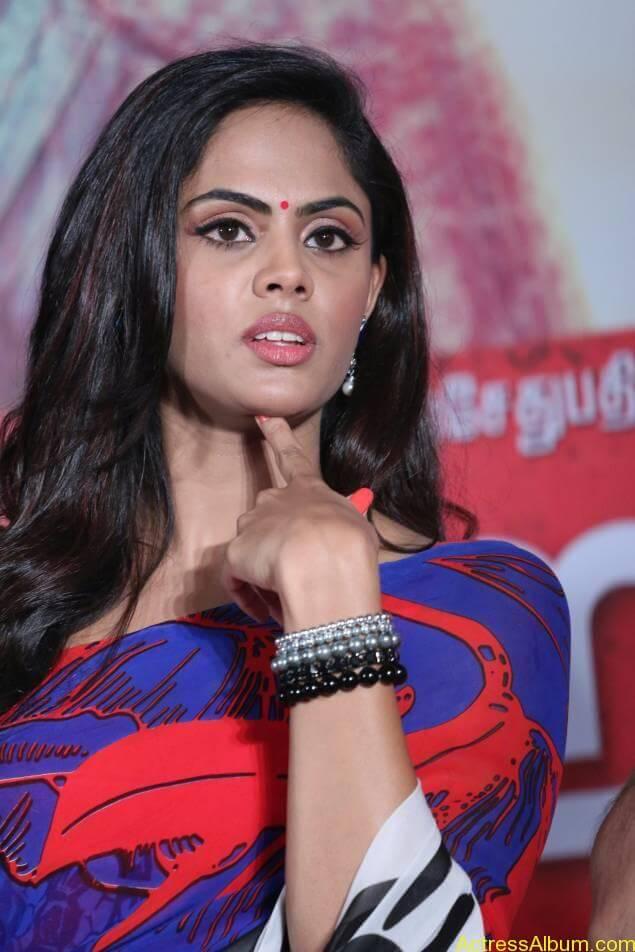 Tamil Actress Karthika Nair Hot in Blue Dress - 7