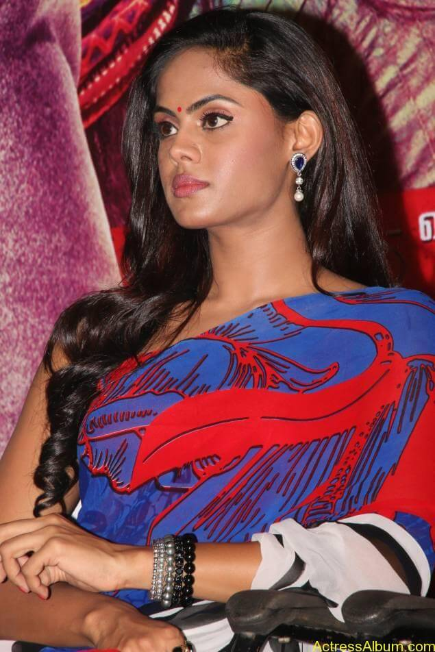 Tamil Actress Karthika Nair Hot in Blue Dress - 8
