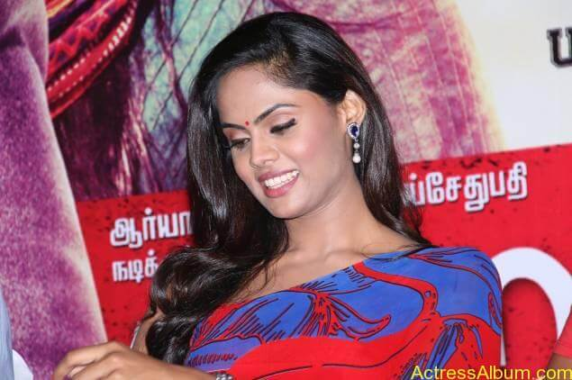 Tamil Actress Karthika Nair Hot in Blue Dress - 9