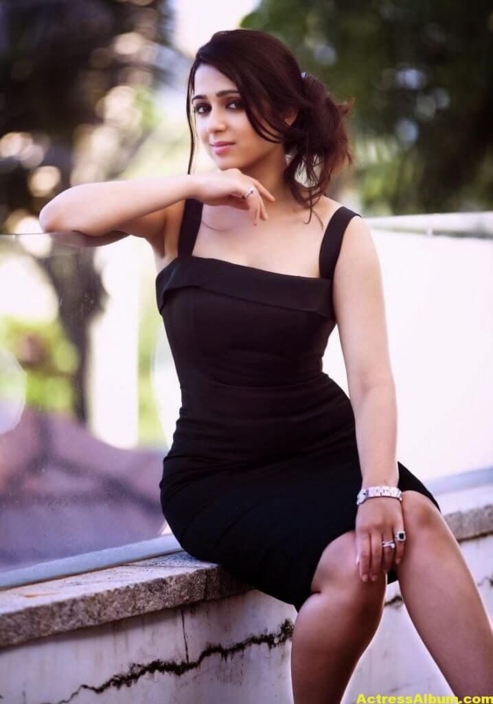 Actress Charmi Spicy Photoshoot Stills (1)