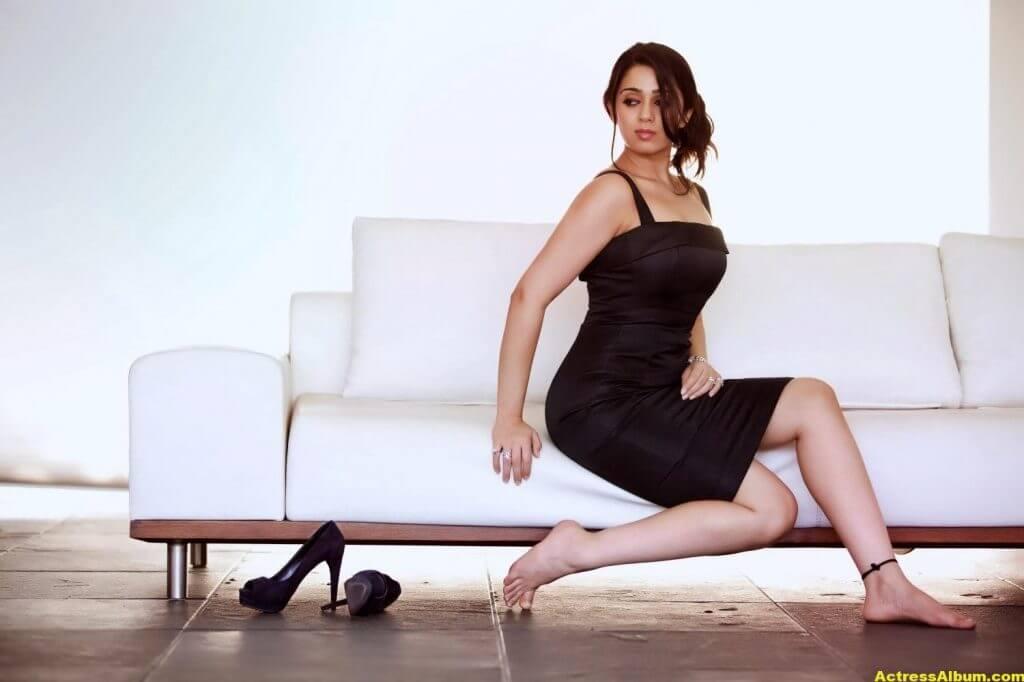 Actress Charmi Spicy Photoshoot Stills (4)