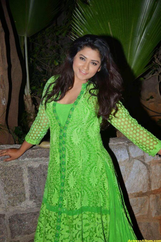 Actress Jyothi Latest Cute Hot Beautiful Green Dress Spicy Photos Gallery At Dr.Salim Movie Audio Launch (4)