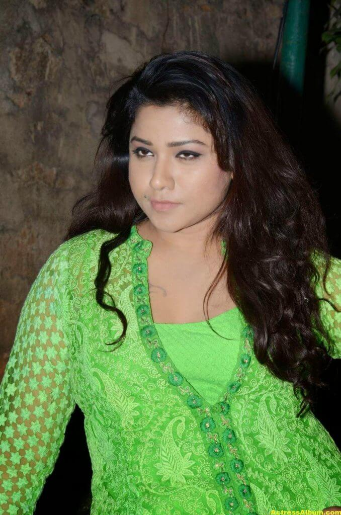 Actress Jyothi Latest Cute Hot Beautiful Green Dress Spicy Photos Gallery At Dr.Salim Movie Audio Launch (8)