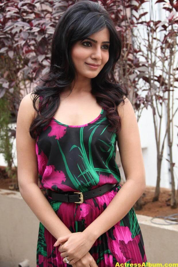 Actress Samantha Pretty Stills 1