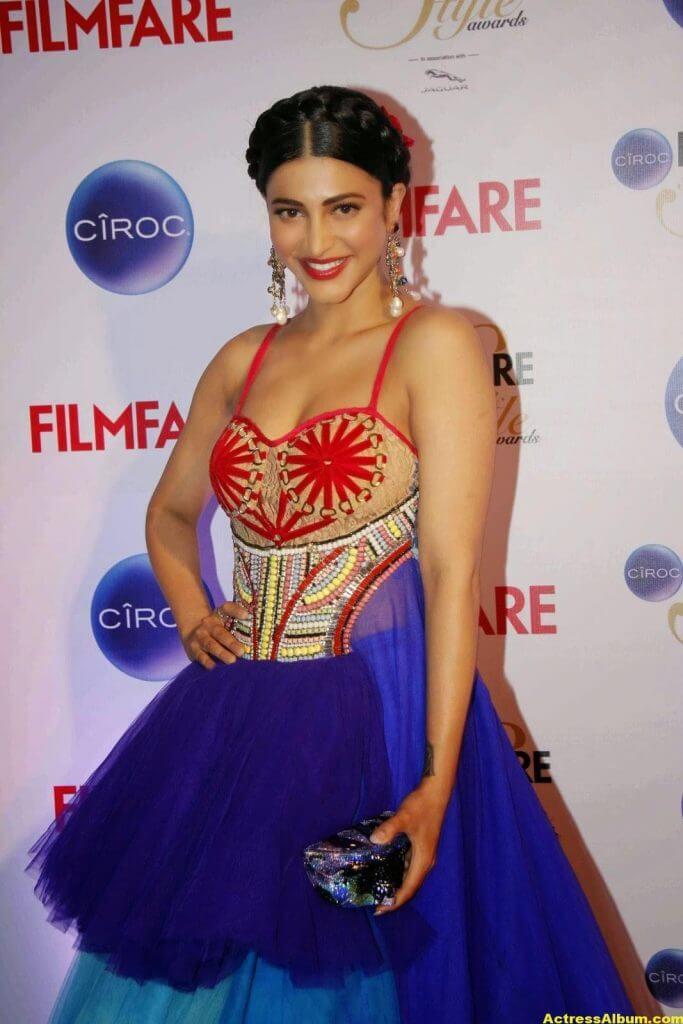Actress Shruti Haasan Stills At Ciroc Filmfare 1