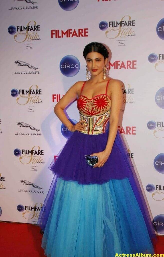 Actress Shruti Haasan Stills At Ciroc Filmfare 2