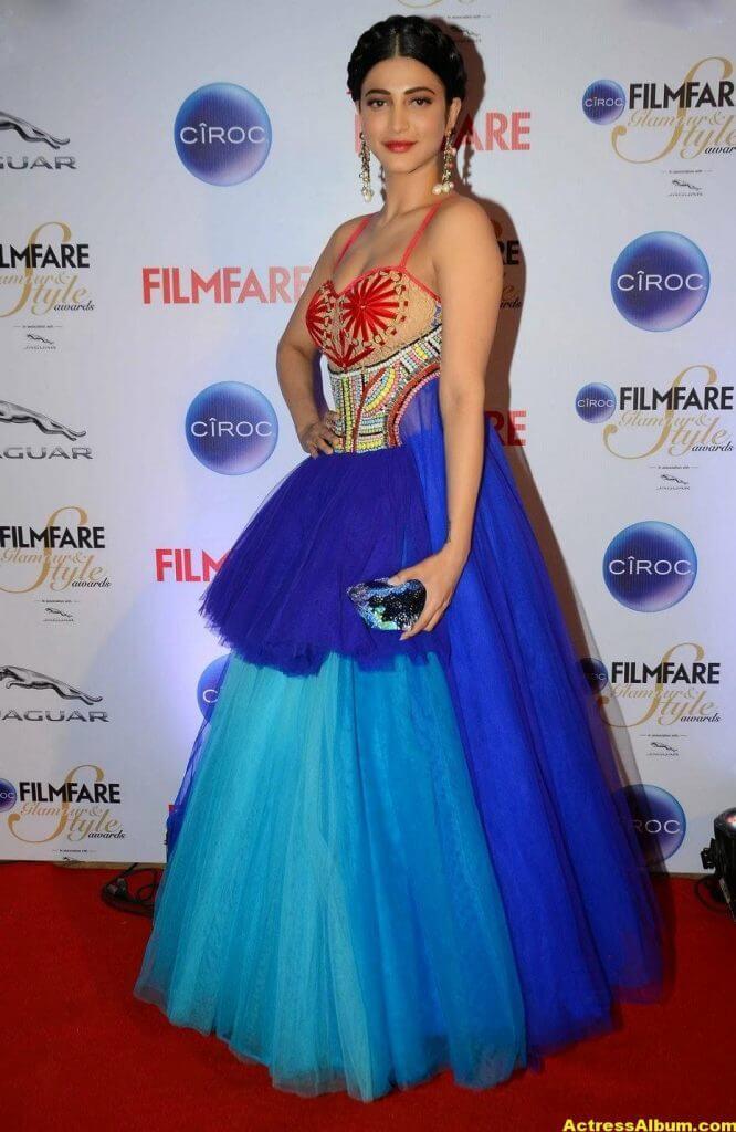 Actress Shruti Haasan Stills At Ciroc Filmfare 3