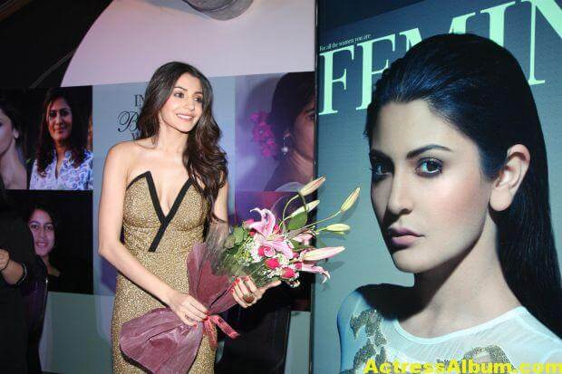 Anushka Sharma at Femina Magazine Launch Photos 4